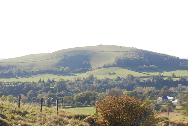 Melbury Hill from Zig Zag Hill - geograph.org.uk - 589504