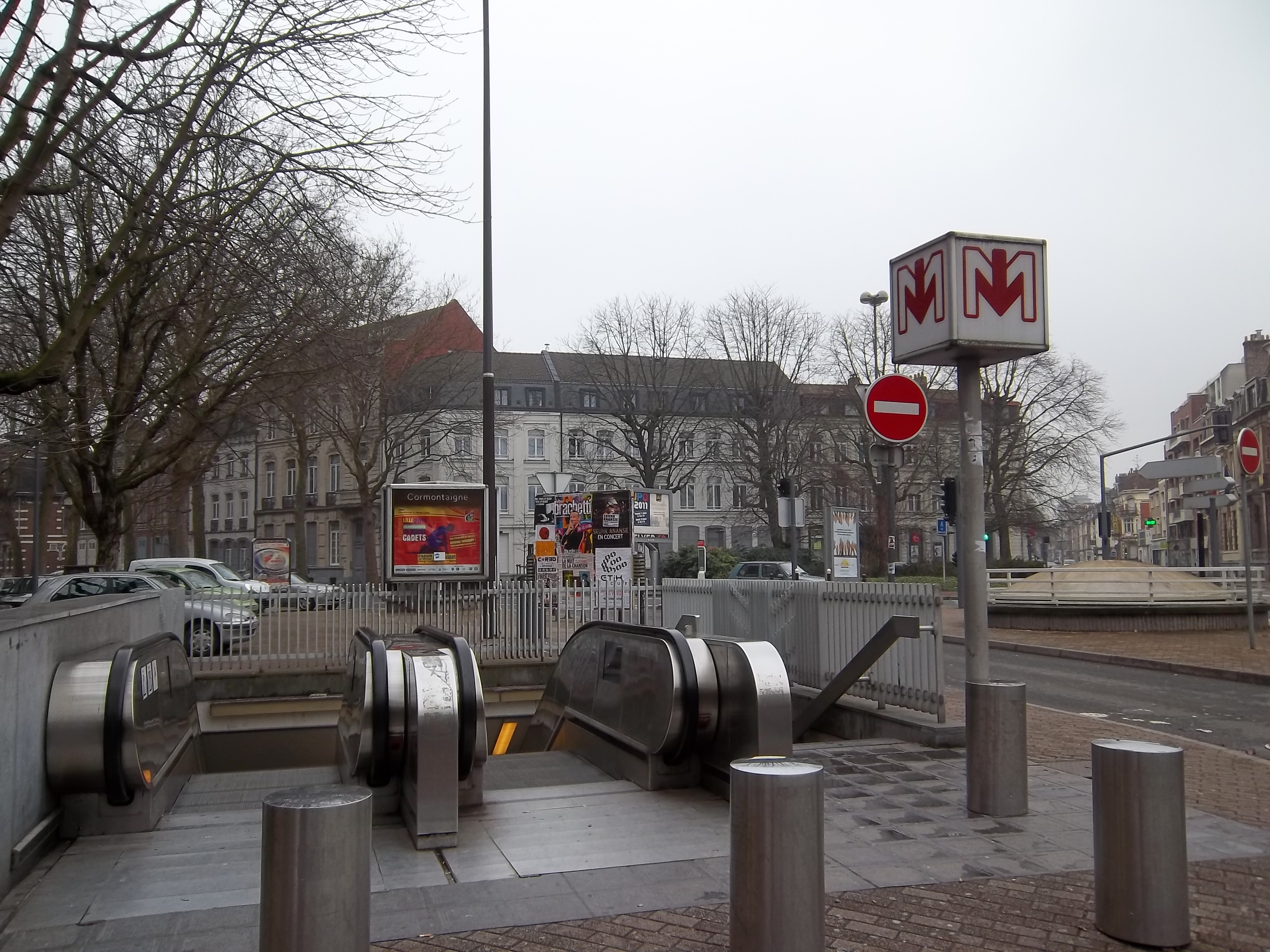 Cormontaigne metrostation wikiwand - Magasin metro lille ...