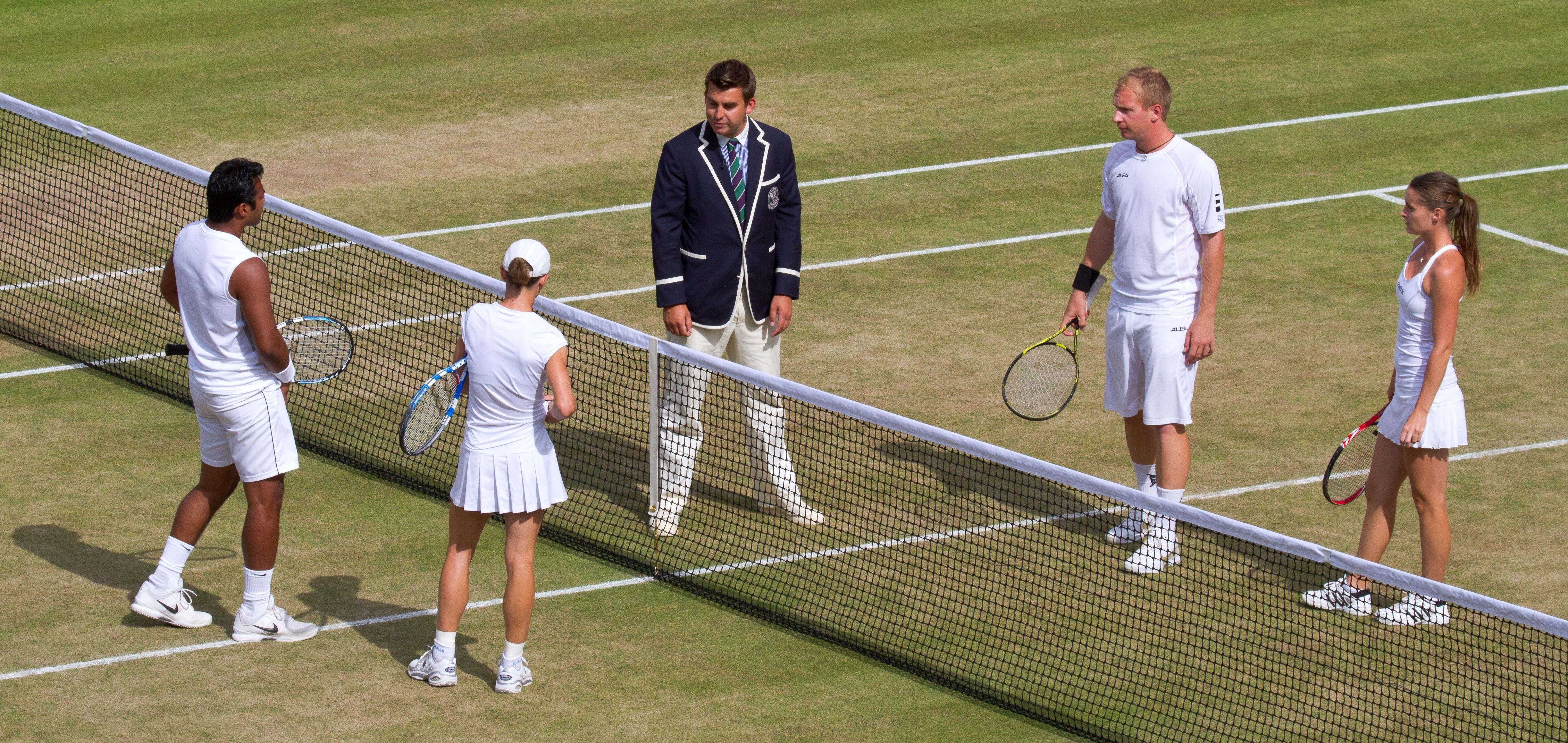 wimbledon mixed doubles
