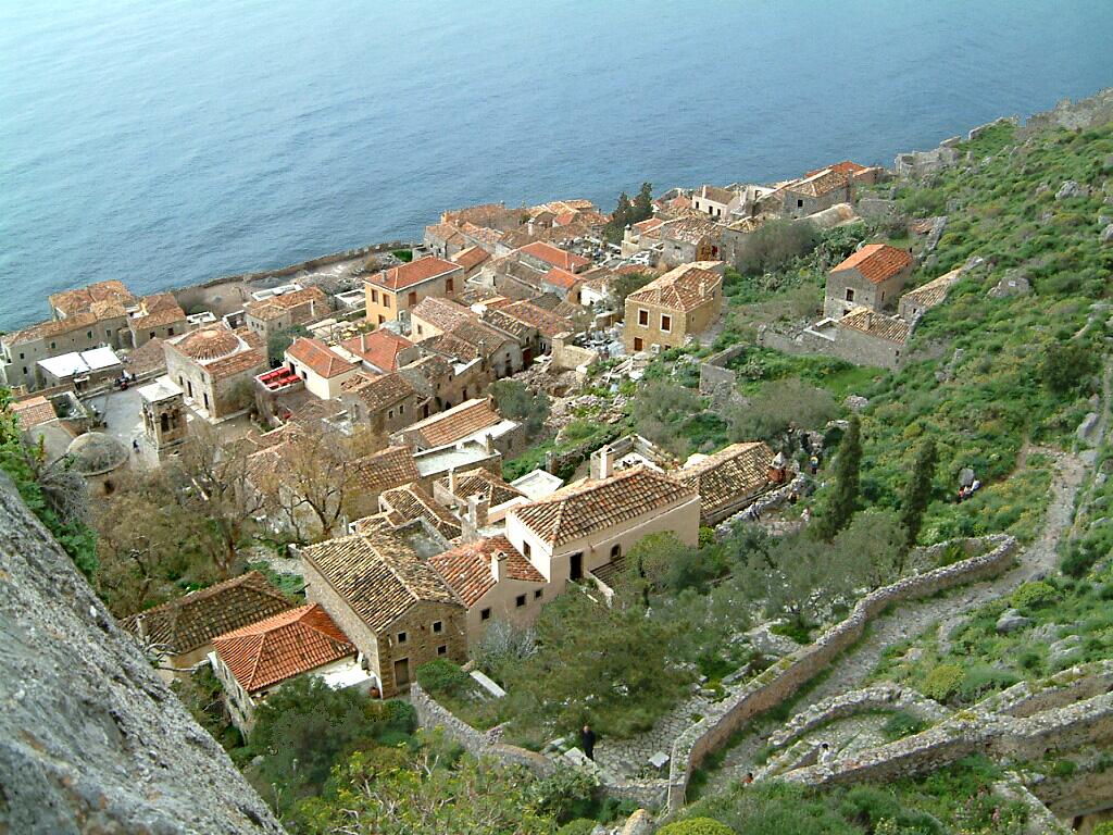 زیباترین شهرهای دنیا, یونان, مناطق دیدنی یونان, مونمواسیا