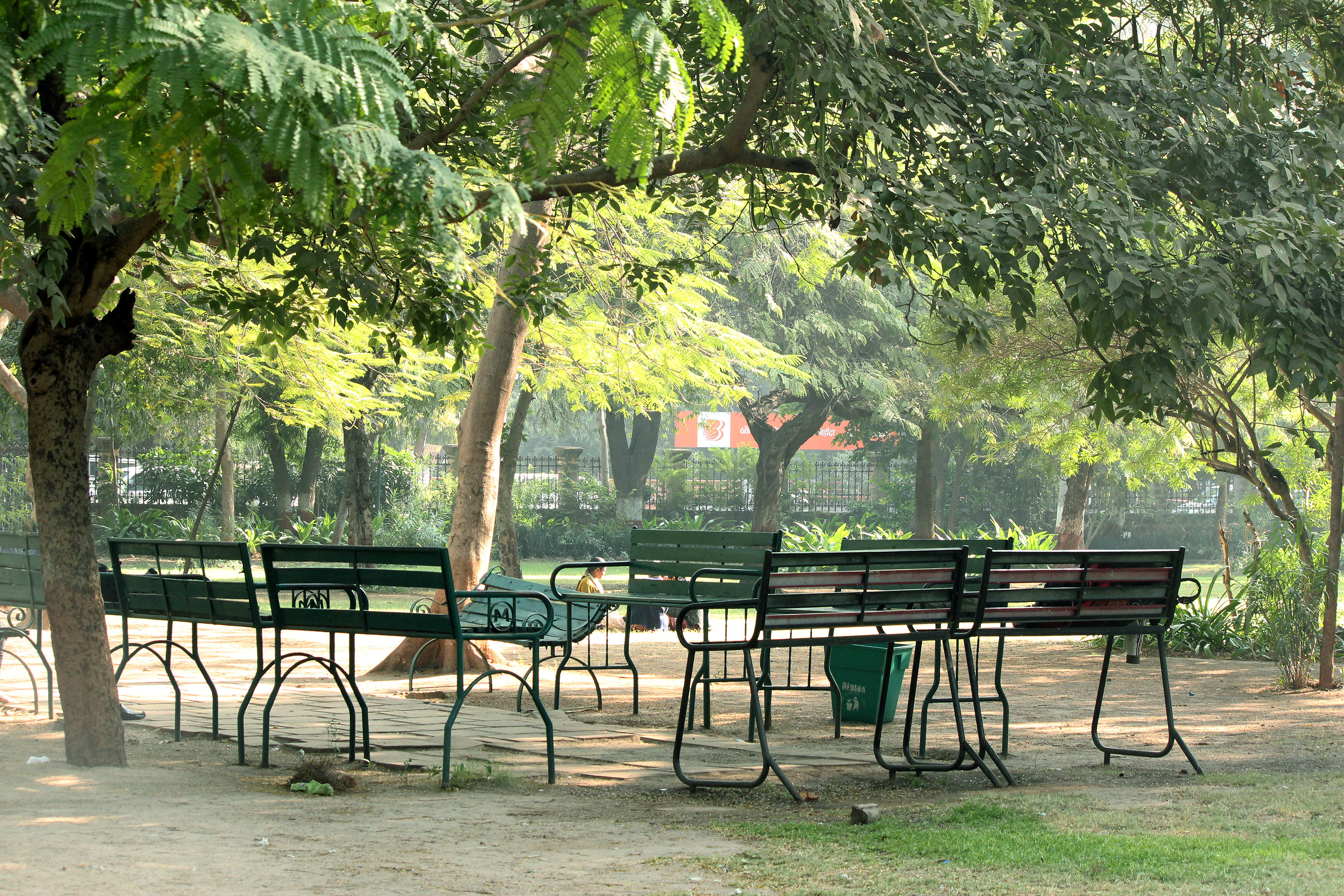 File Morning Scene Of Sitting Area Inside Law Garden Jpg