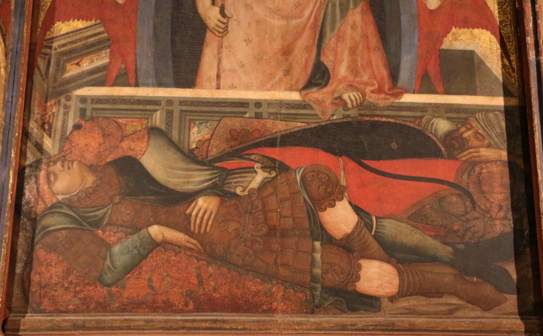 Niccolò di segna, polittico della resurrezione, 1348 circa 09.JPG