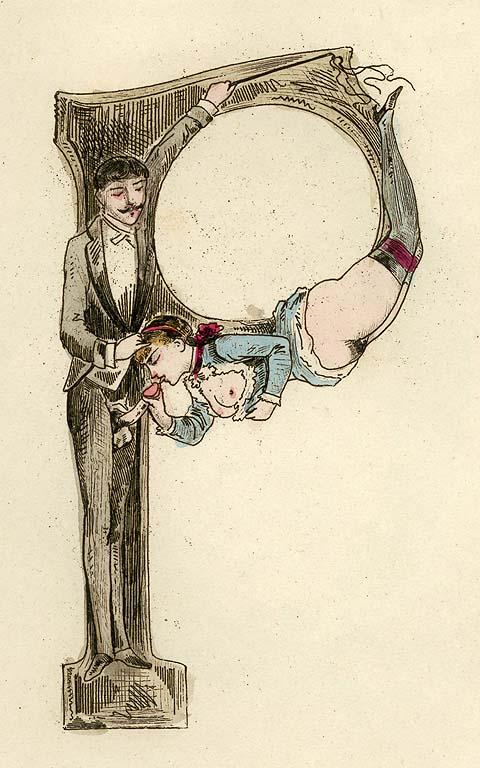 Nineteenth-century erotic alphabet P.jpg