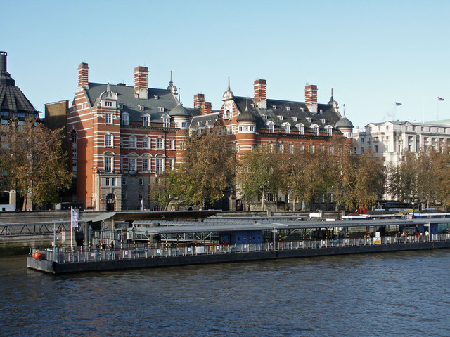 """Old """"New Scotland Yard"""", Westminster - geograph.org.uk - 1600086"""