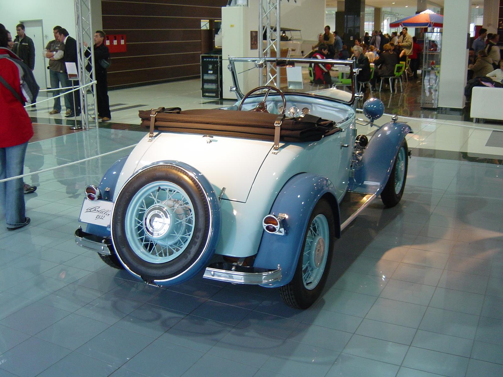 File:Oldtimer Show 2007 - 009 - 1932 Fiat 508 Balilla M Spider (rear