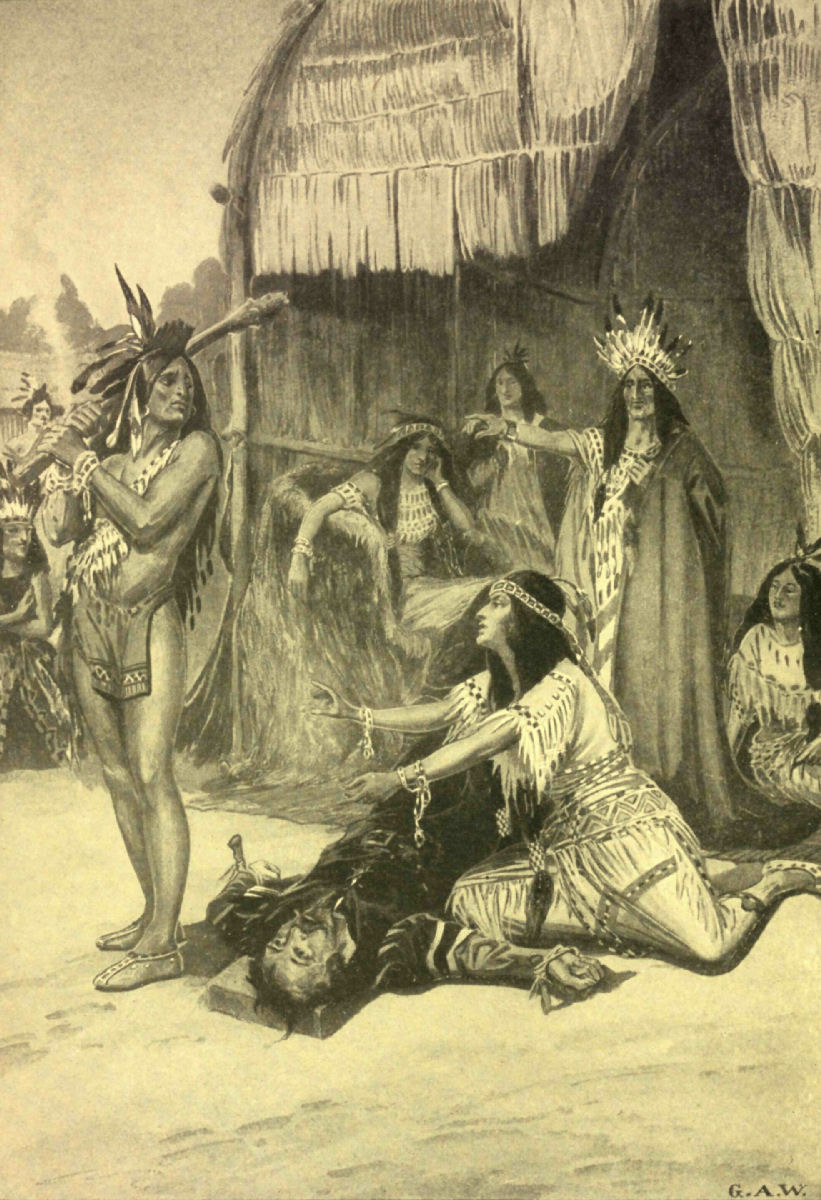 Pocahontas And John Smith Coloring Pages