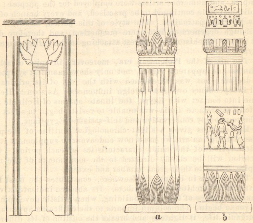 File Papyrus Columns 1885 Timea Jpg Wikimedia Commons