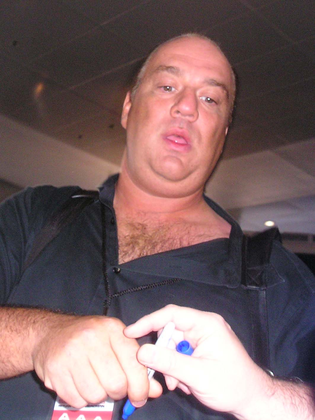 Image of Paul Heyman from Wikidata