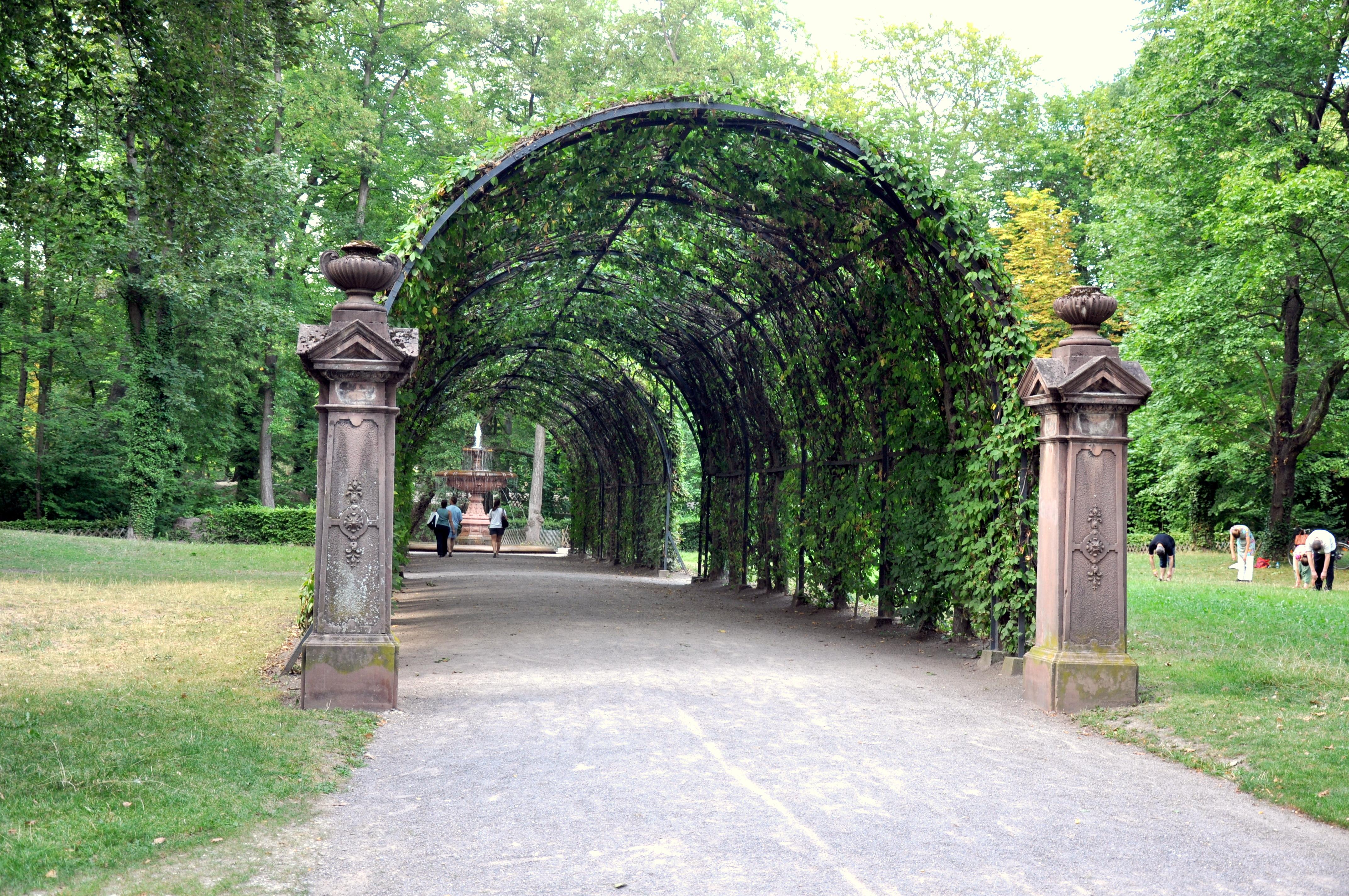 File pergola du parc de l 39 orangerie for Parc des expo strasbourg