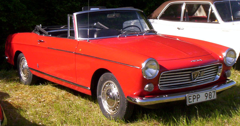 file peugeot 404 cabriolet 1963 wikimedia commons. Black Bedroom Furniture Sets. Home Design Ideas