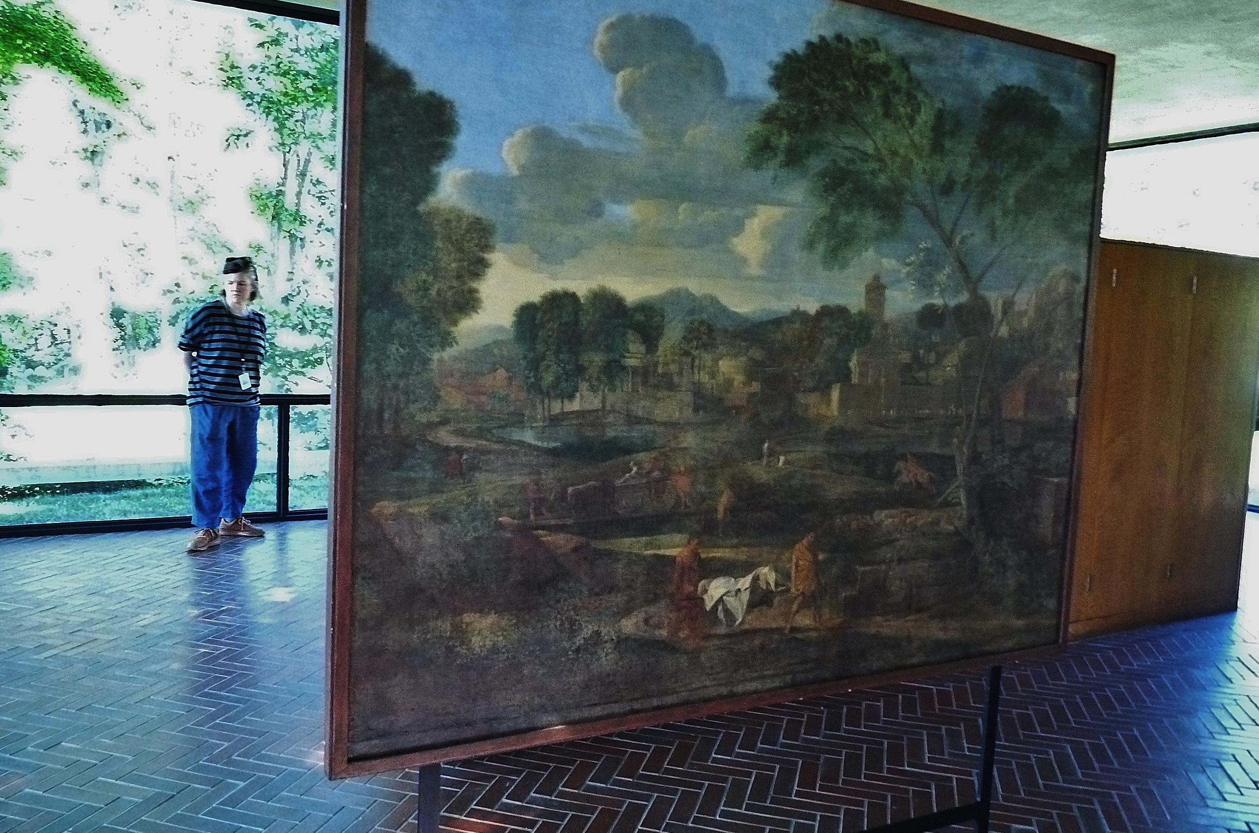Philip Johnson Glass House file:philip johnson glass house painting - wikimedia commons