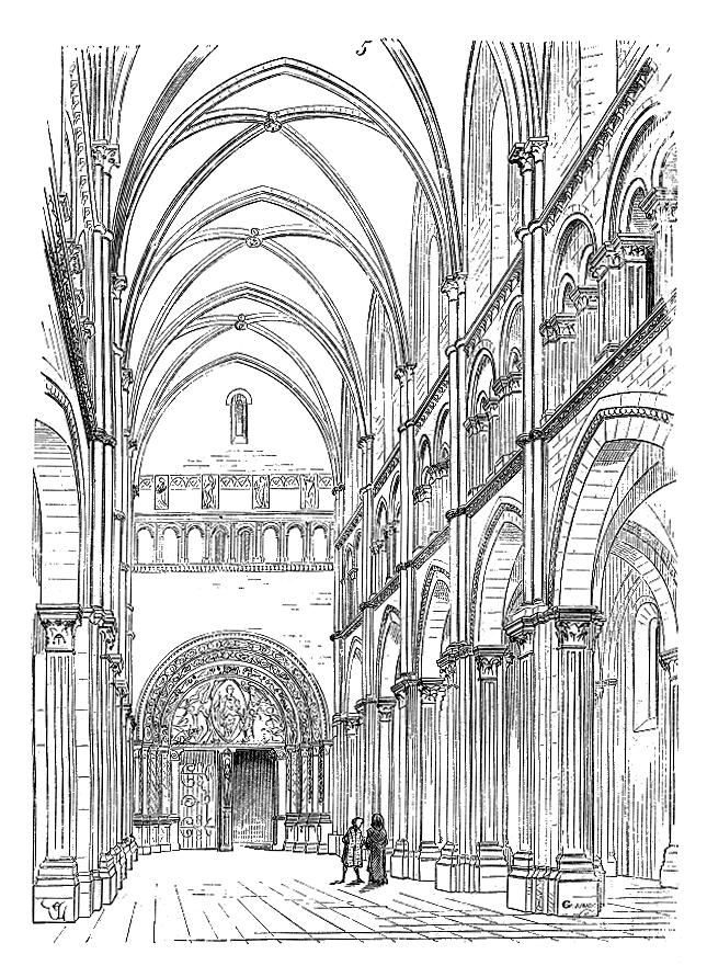 Rochefort u s a friendship aux sources de l 39 art roman - Eglise dessin ...