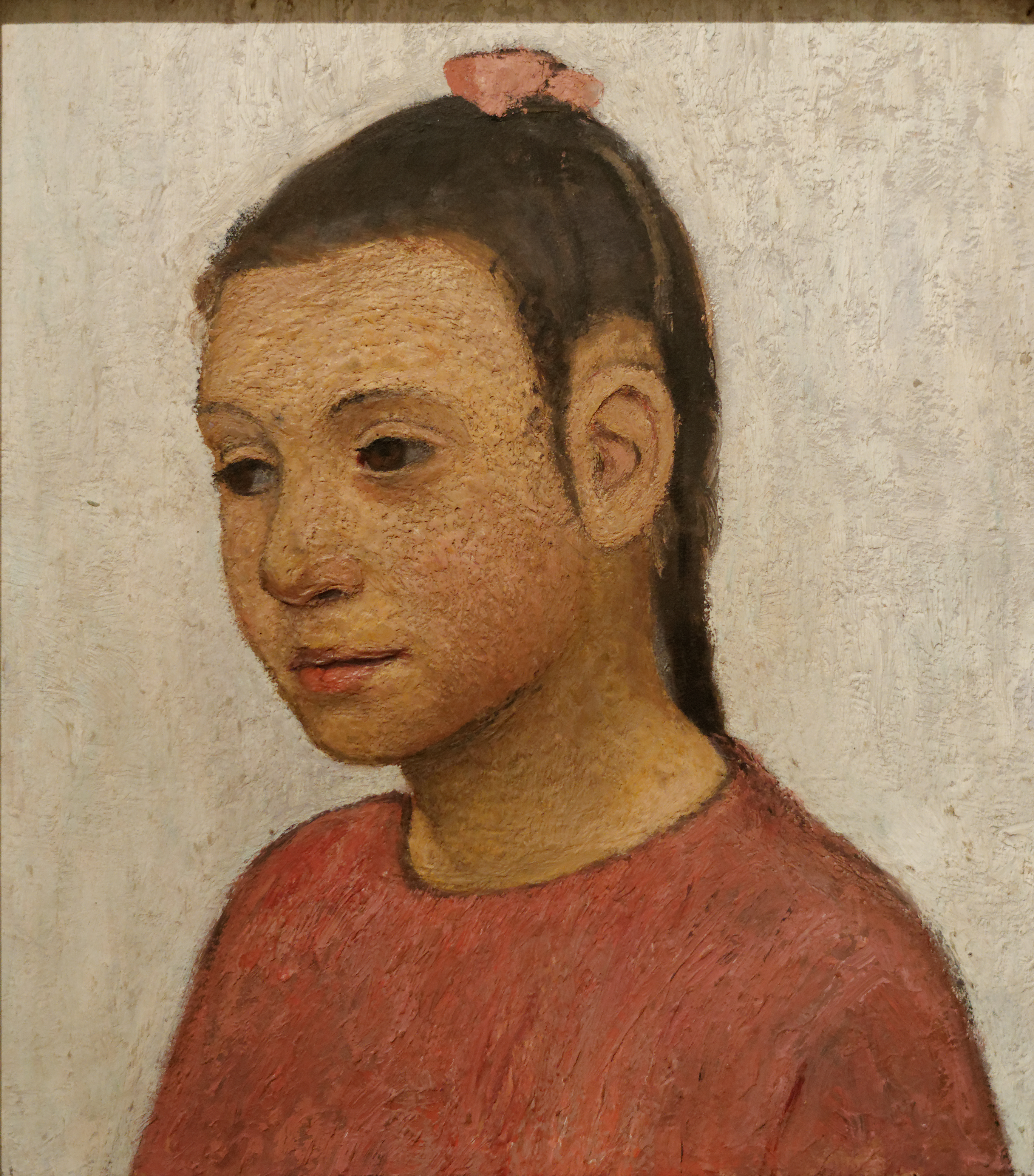 File Portrait Of A Girl Paula Modersohn Becker Wikimedia Mons