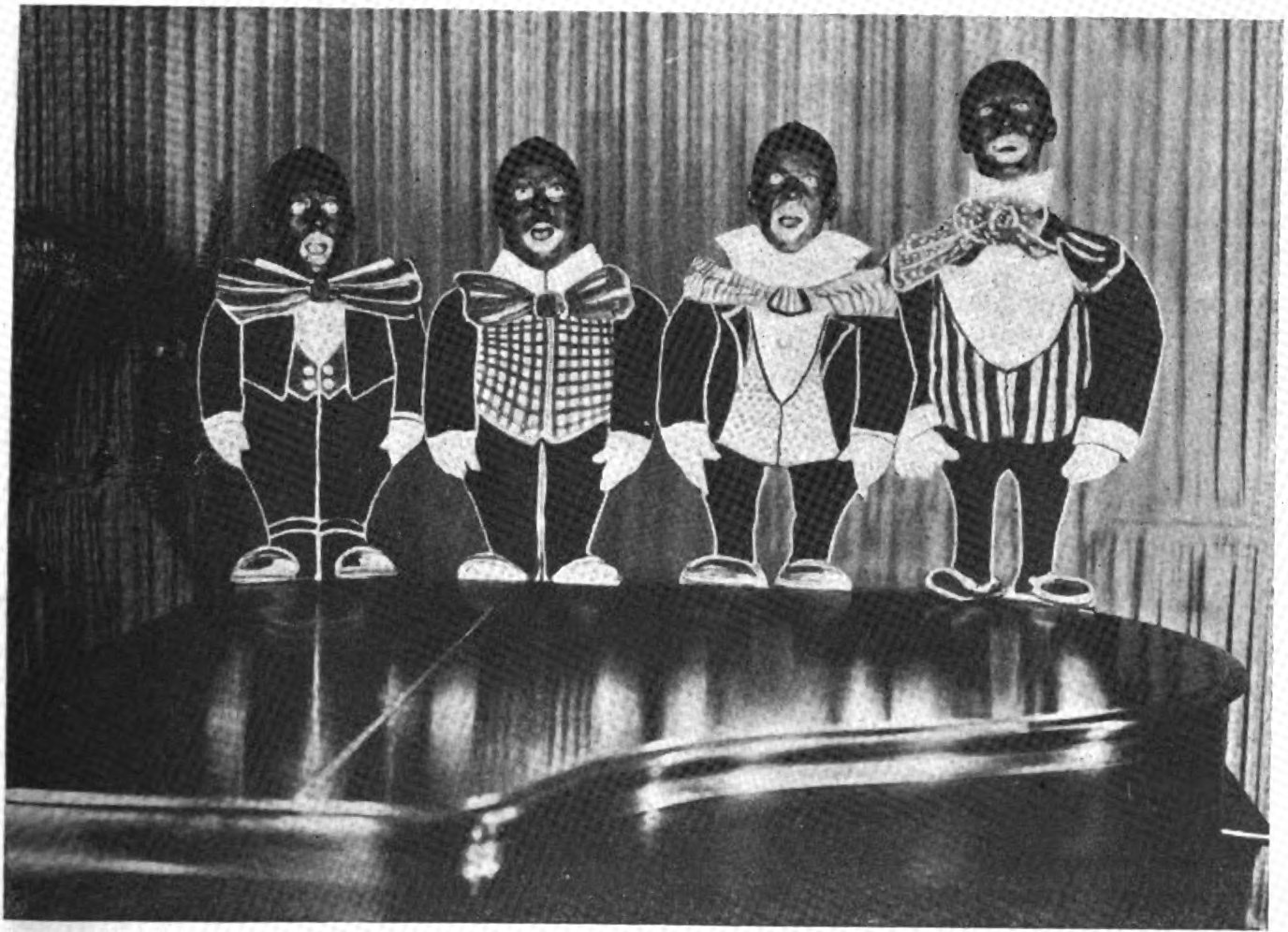 fileradio four blackface singing groupjpg wikimedia