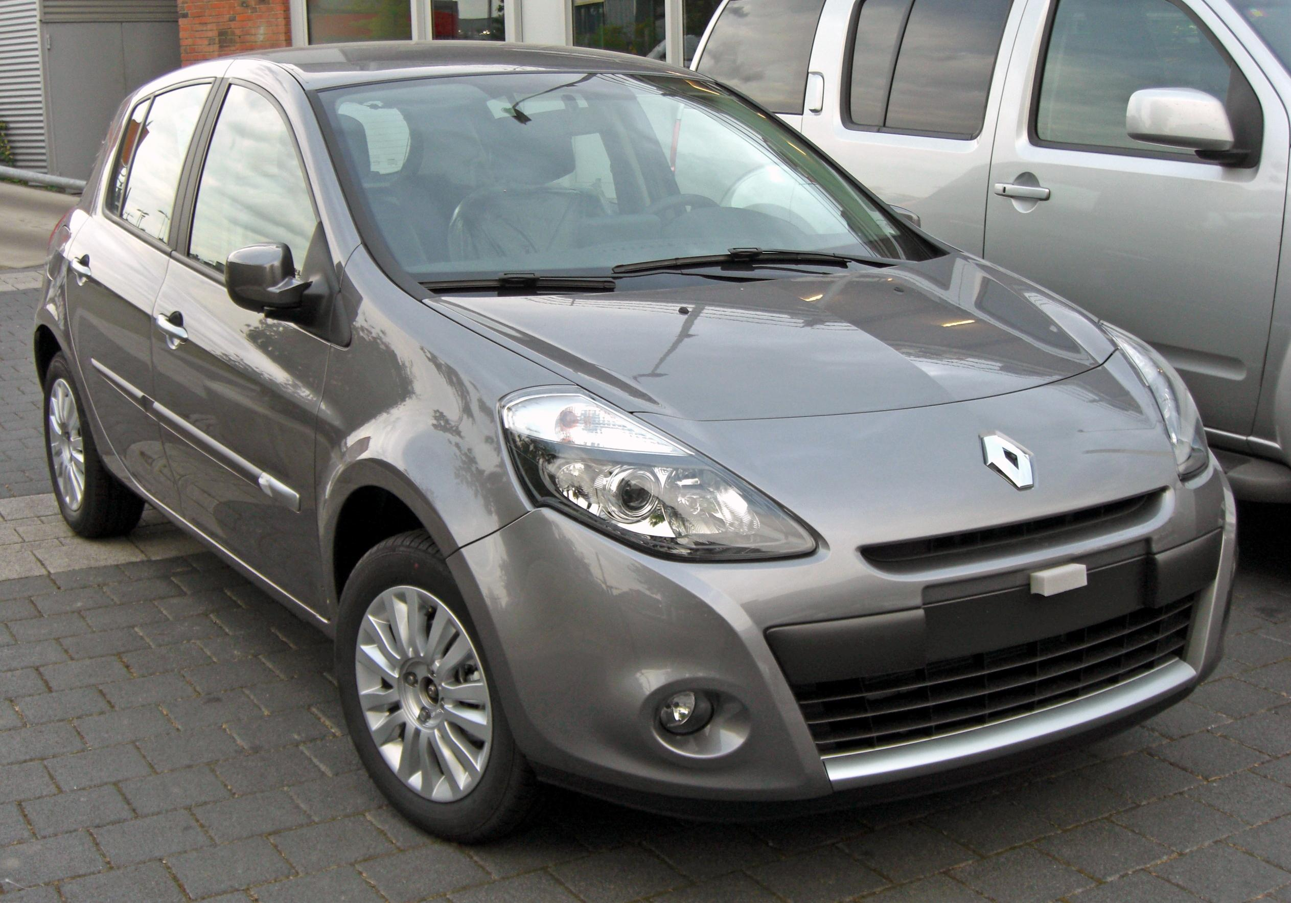 File renault clio iii facelift 20090603 front jpg for Interieur clio 4