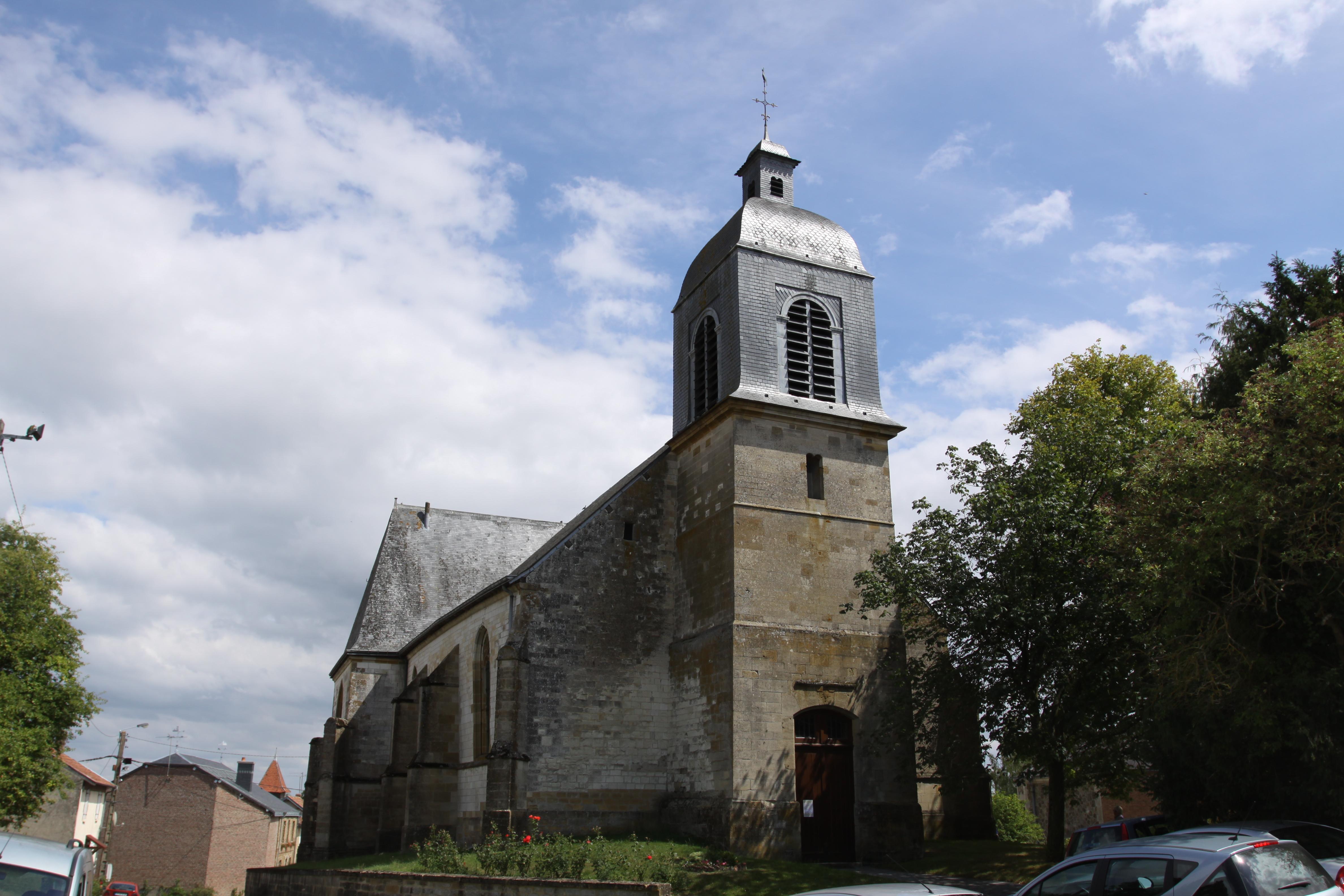 Datei:Saint Morel (08 Ardennes) - Église Saint-Maurice - Photo ...