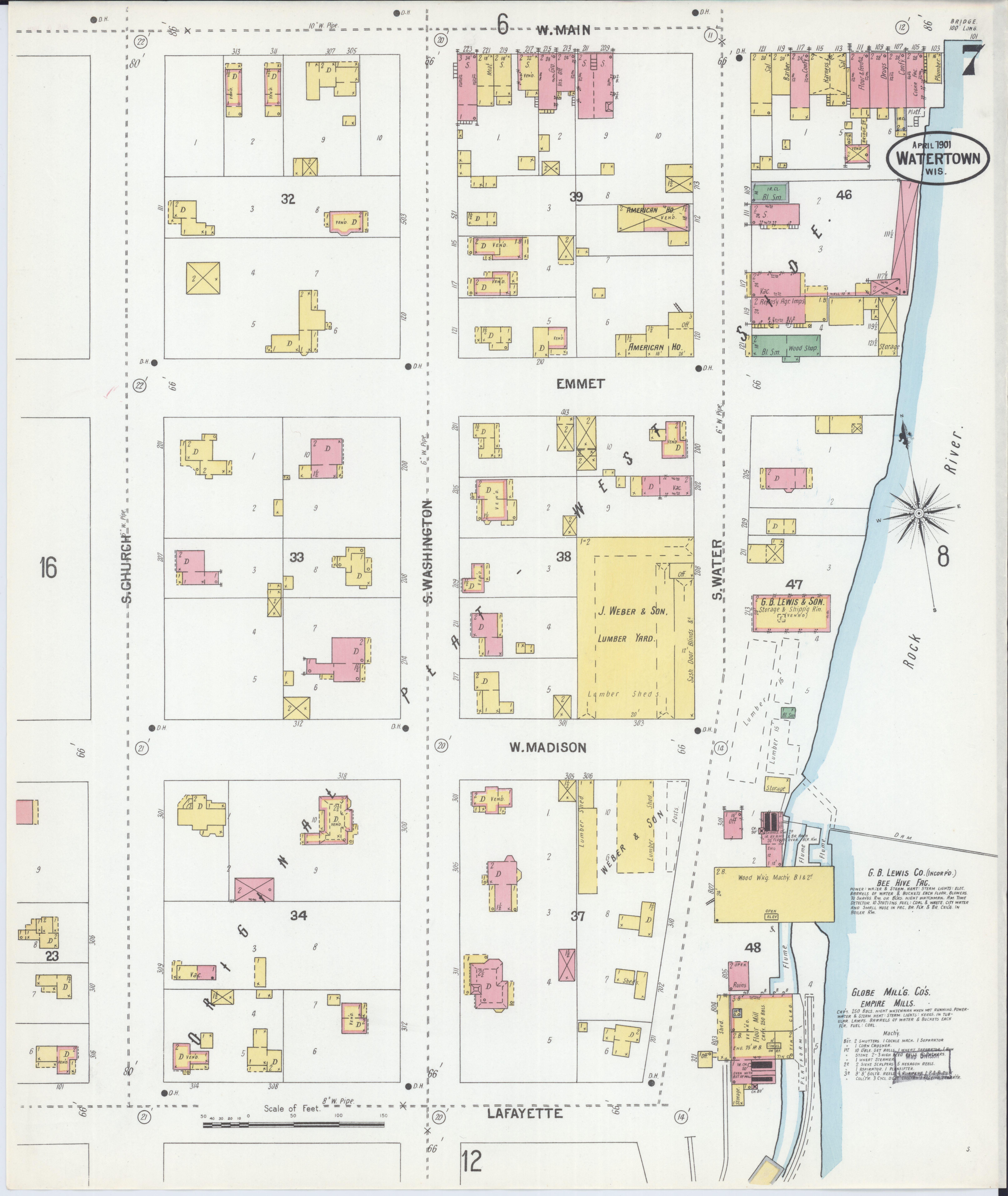 File:Sanborn Fire Insurance Map from Watertown, Jefferson