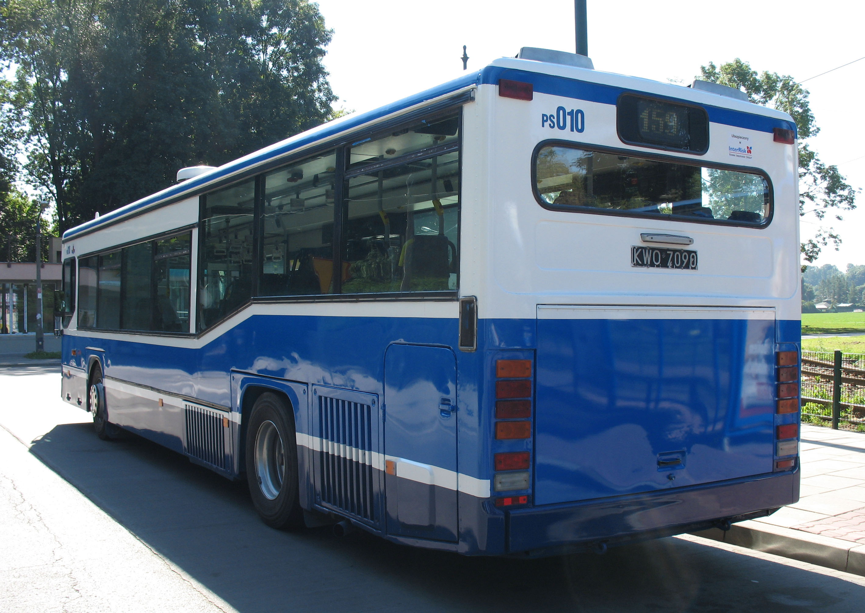 Description Scania Bus  PS010    MPK Krak  W  2