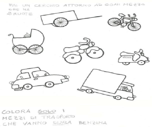 Bien connu I mezzi stradali (scuola dell'infanzia) - Wikiversità YU58