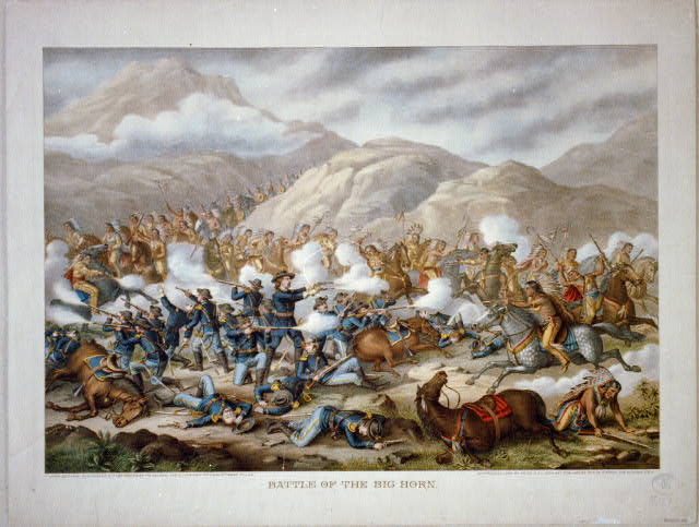 an analysis of the native american indian story of crazy horse and the battle of the little big horn The battle of the little bighorn  lakota leaders such as sitting bull and crazy horse rejected  when the commissioner of indian affairs issued an.