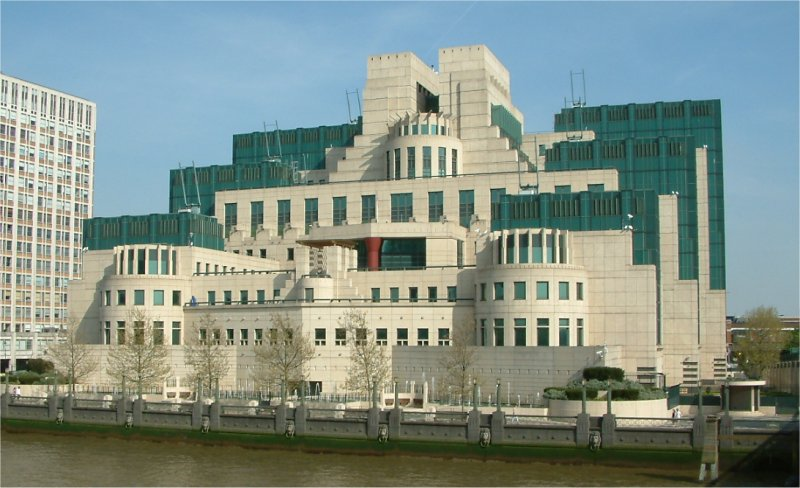 Headquarters of the British Secret Intelligence Service (SIS, MI6)