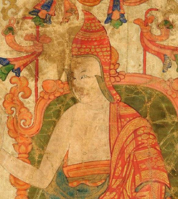 Tibetan Śāntideva Wikimedia picture