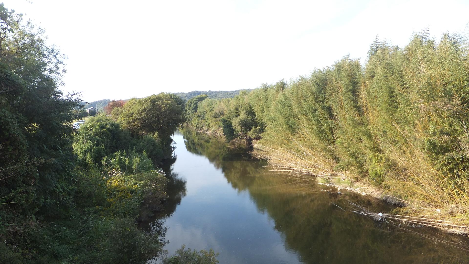 File Shijimitown Abuta Mikicity Hyogopref Shijimi River Jpg