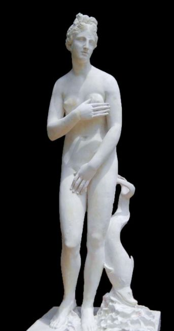"A ""Venus Pudica"" found in Scupi, dated from the 2nd century AD. Shy venus statue skopje.jpg"