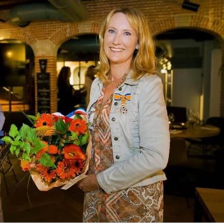 Simone van der Vlugt.