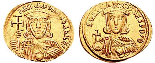 파일:Solidus-Nicephorus I and Staraucius-sb1604.jpg