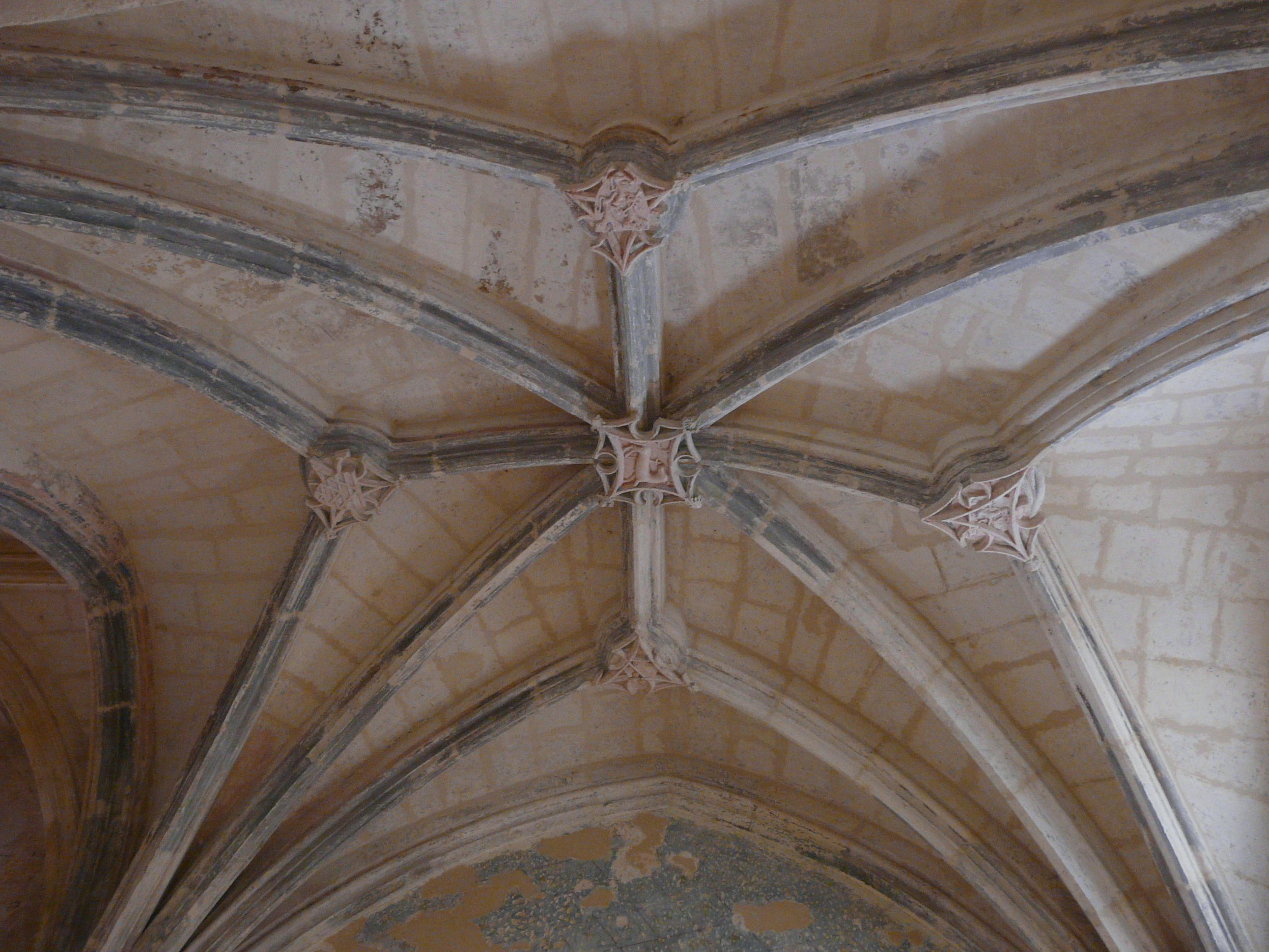 File sourzac glise plafond grande chapelle sud jpg - Plafond de la chapelle sixtine description ...