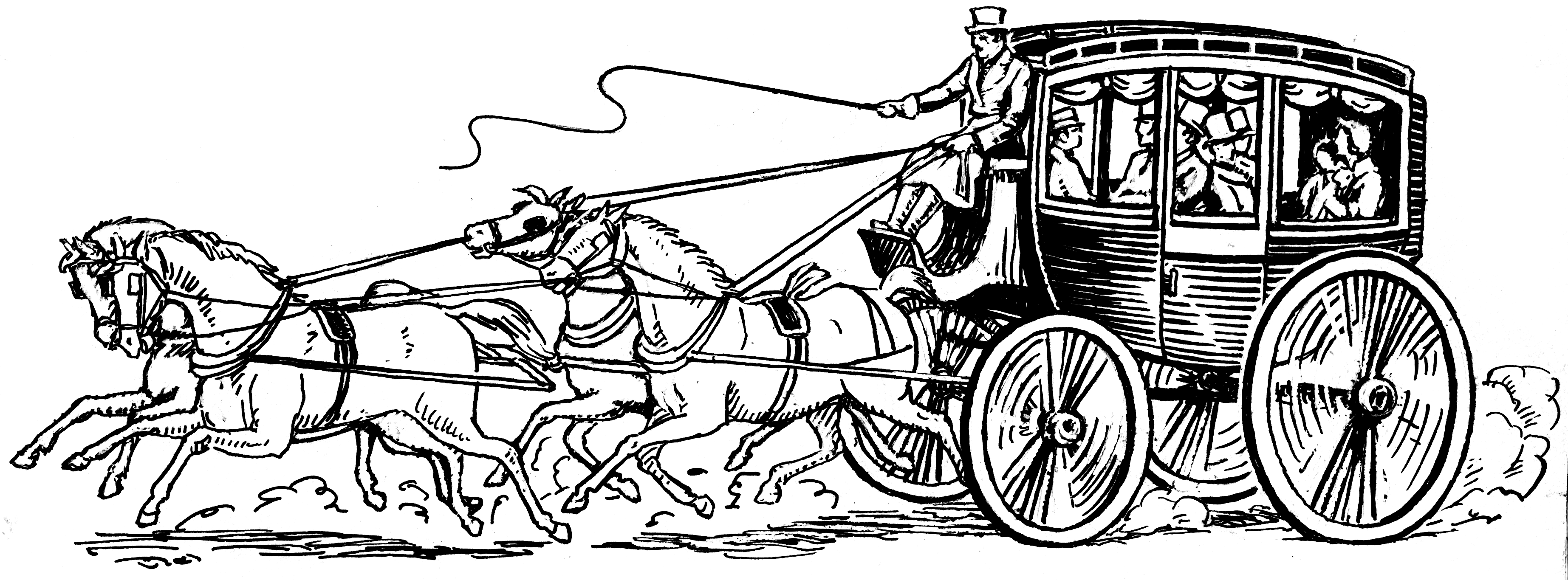 File stagecoach psf png wikimedia commons - Charrette dessin ...