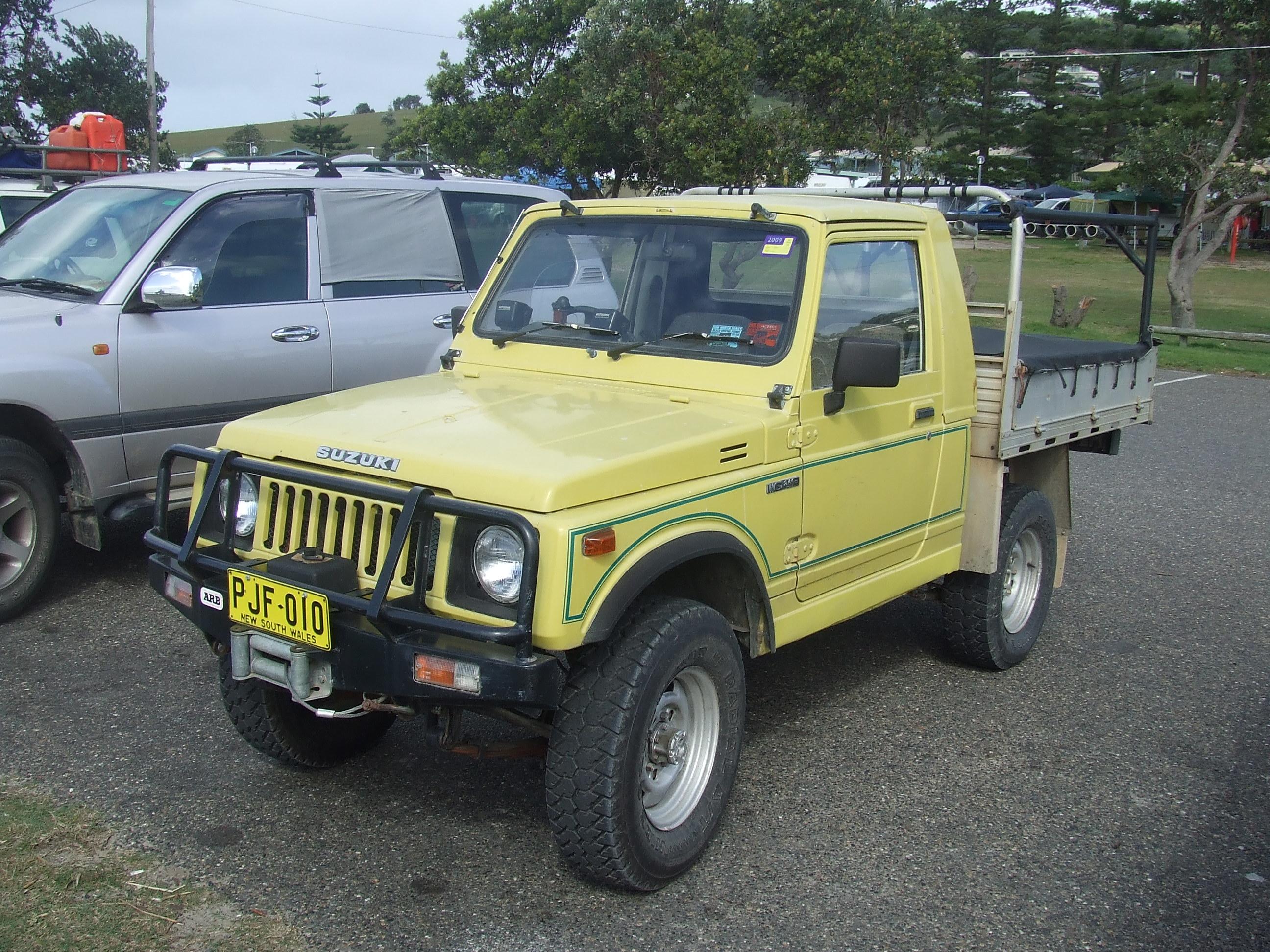 Suzuki Sierra Stockman