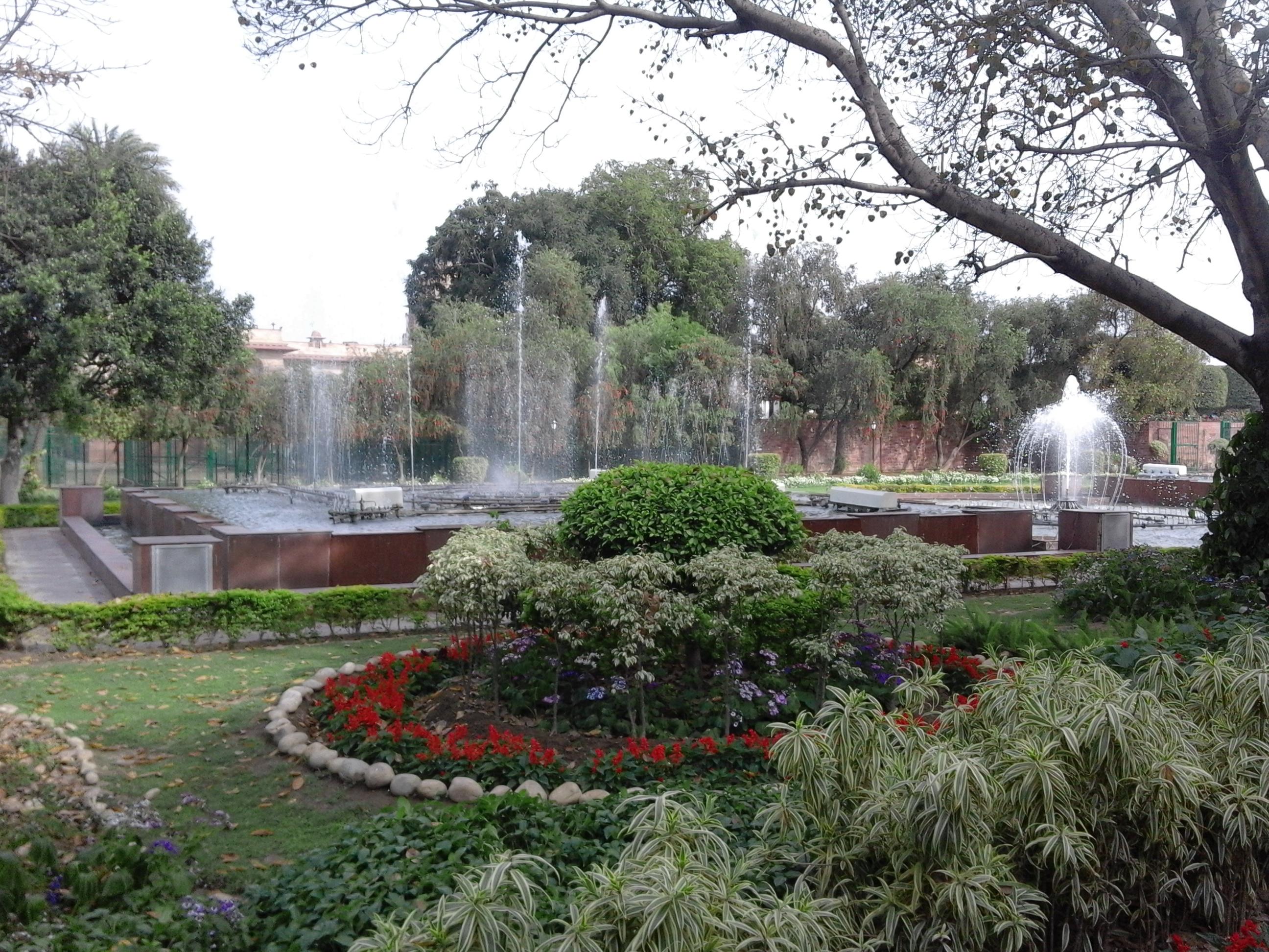 File Taken At India 39 S Most Beautiful Garden Mughal Garden