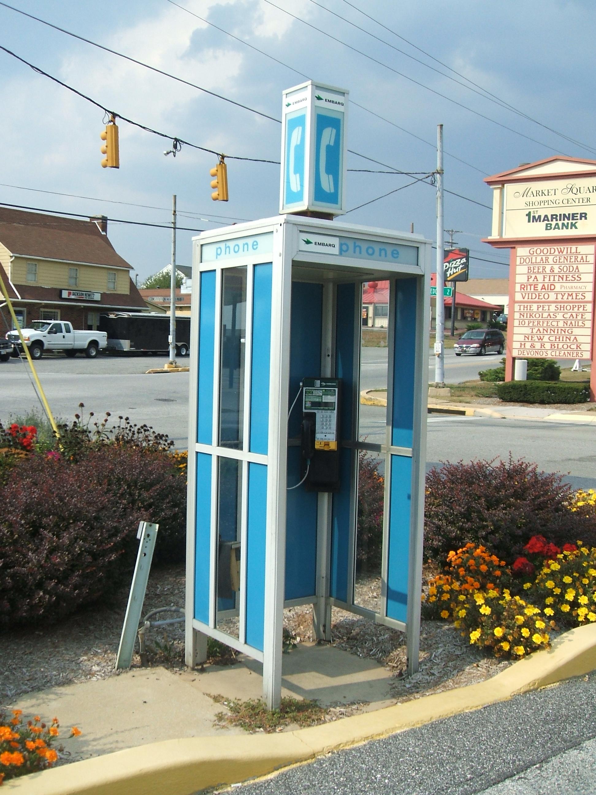 místní telefonní linky