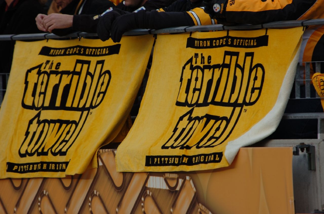 359a2db8 Terrible Towel - Wikipedia