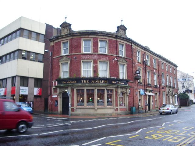 Creative Commons image of The Adelphi in Blackburn