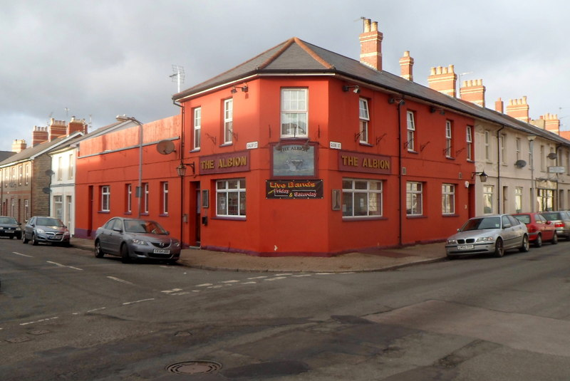 Creative Commons image of The Albion in Penarth