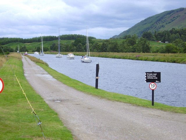 The Caledonian Canal. - geograph.org.uk - 981474