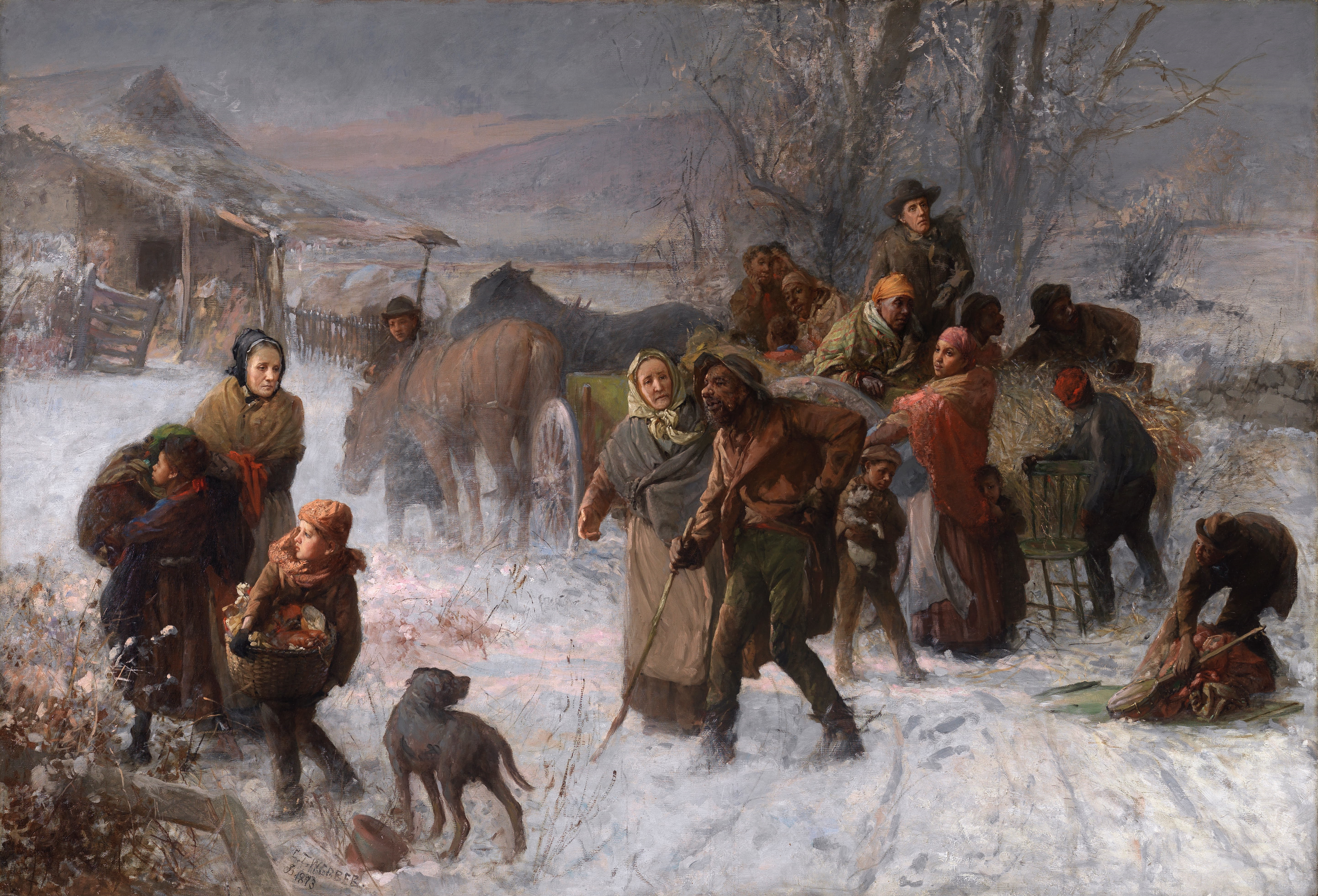 The Underground Railroad, Charles Webber, 1893
