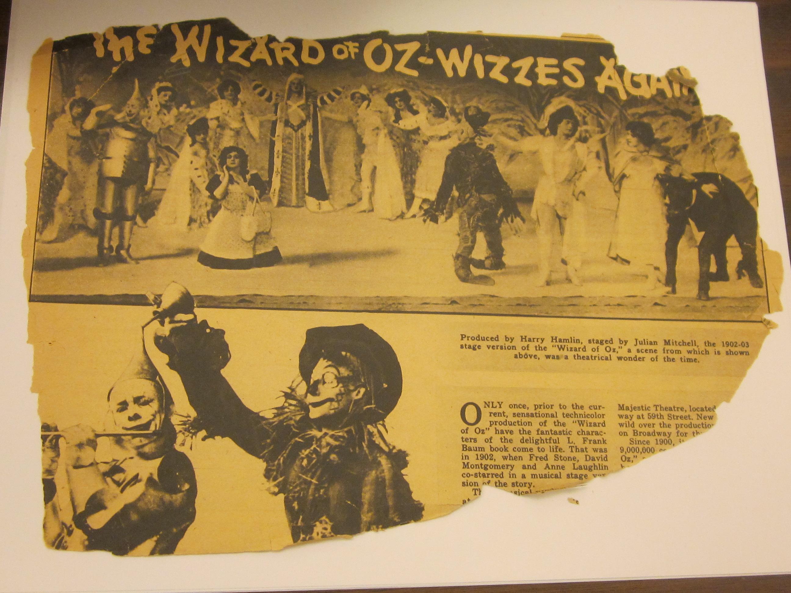 Wizzard Of Oz Embroidery Design