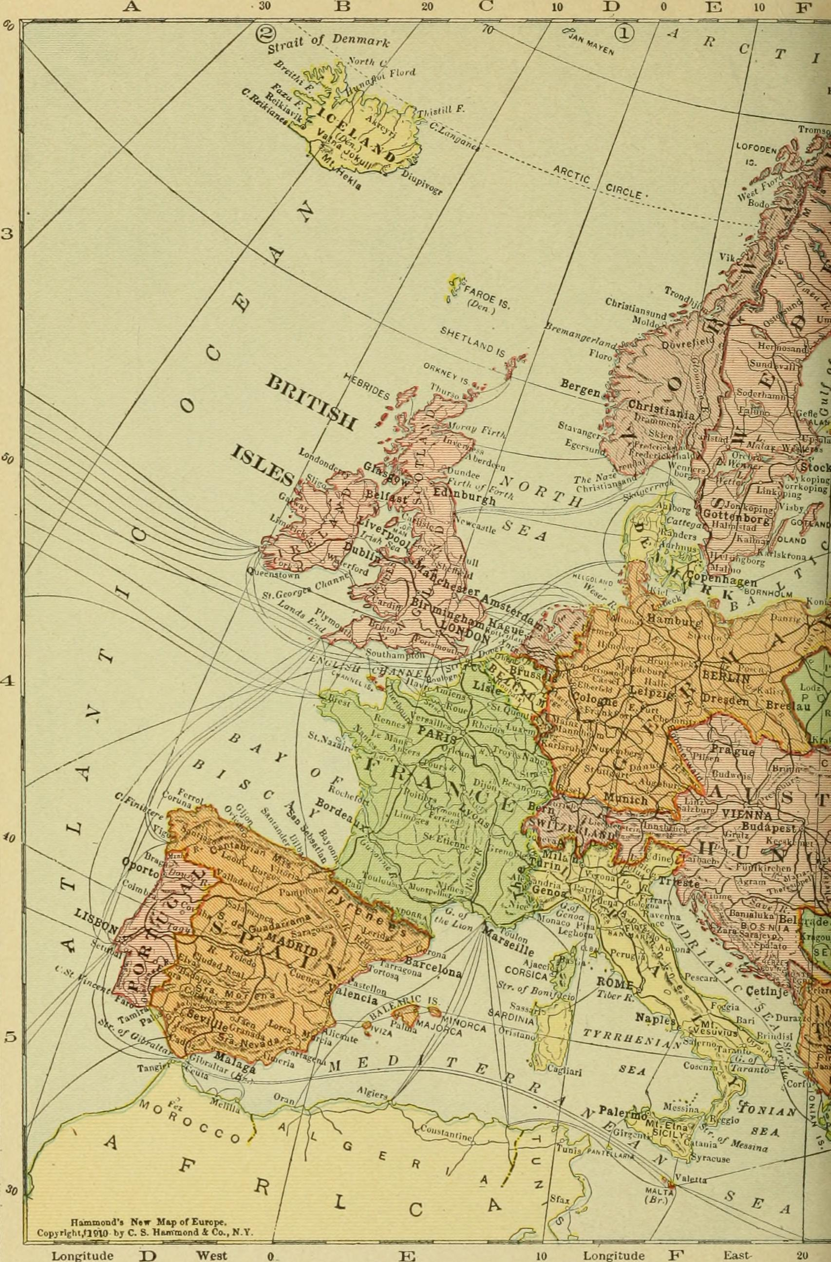 Filethe new map of europe 1911 1914 the story of the recent filethe new map of europe 1911 1914 the story of gumiabroncs Images