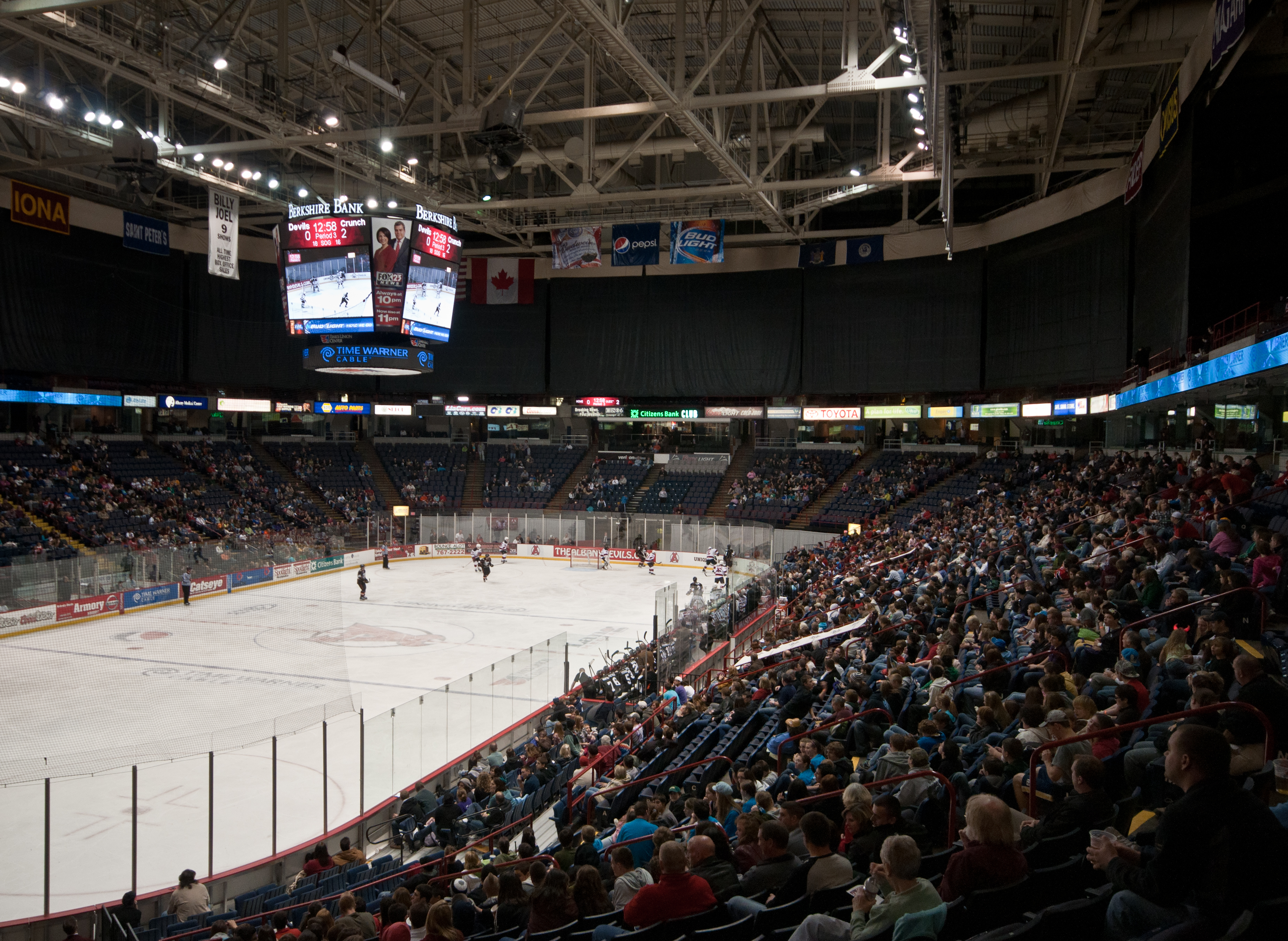 File times union center albany devils vs crunch for 16 camp terrace albany ny