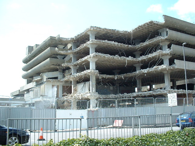 Demolition of the Tricorn Centre