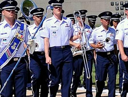 Image result for USAFA band