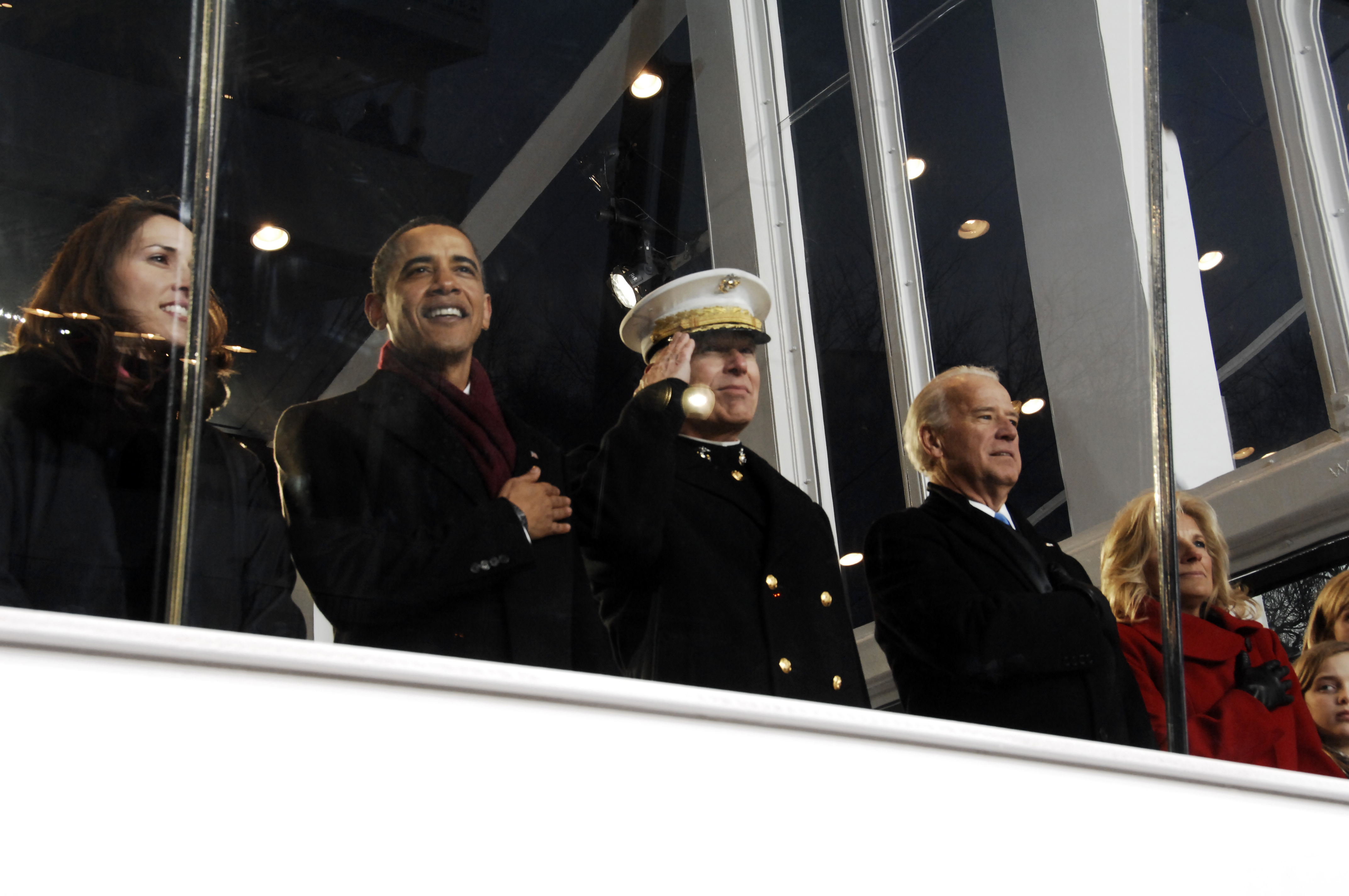 2009 Military Pay Chart: US Navy 090120-A-3085H-639 President Barack Obama Gen. James ,Chart