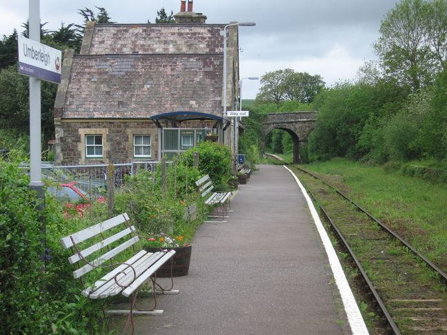 umberleigh railway station