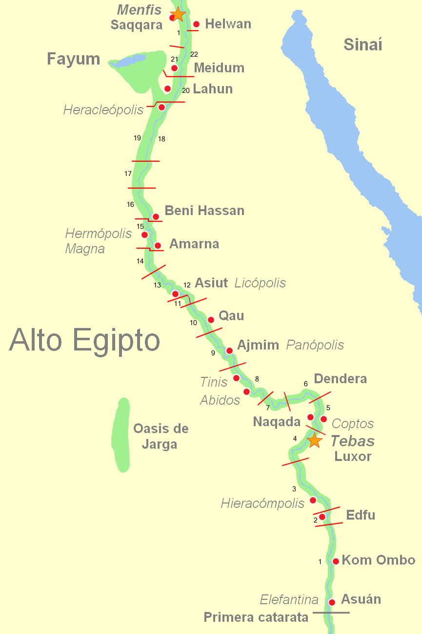 Depiction of Alto Egipto