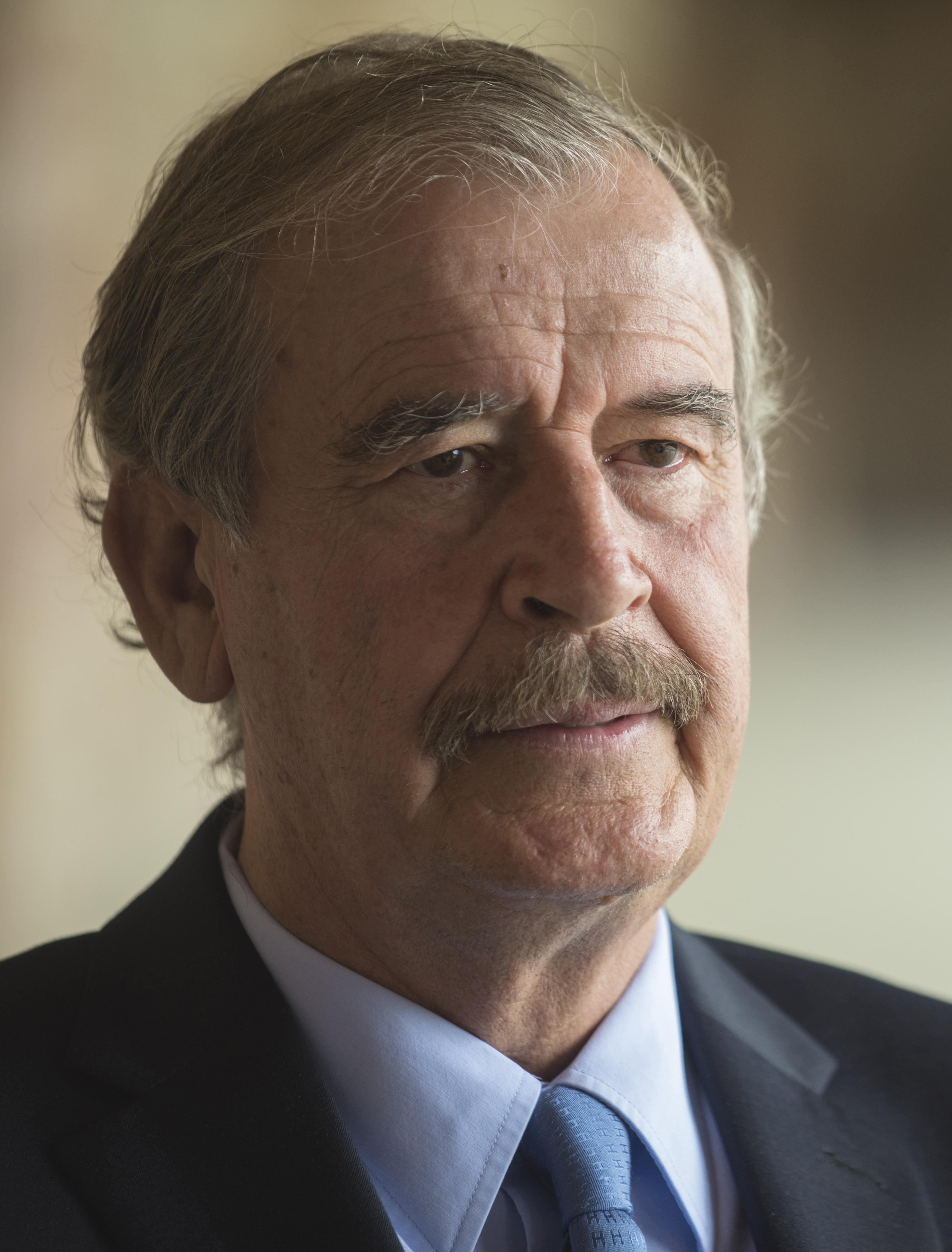 Poet Vicente Fox