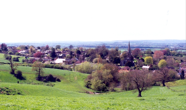 View towards Castle Cary - geograph.org.uk - 108252